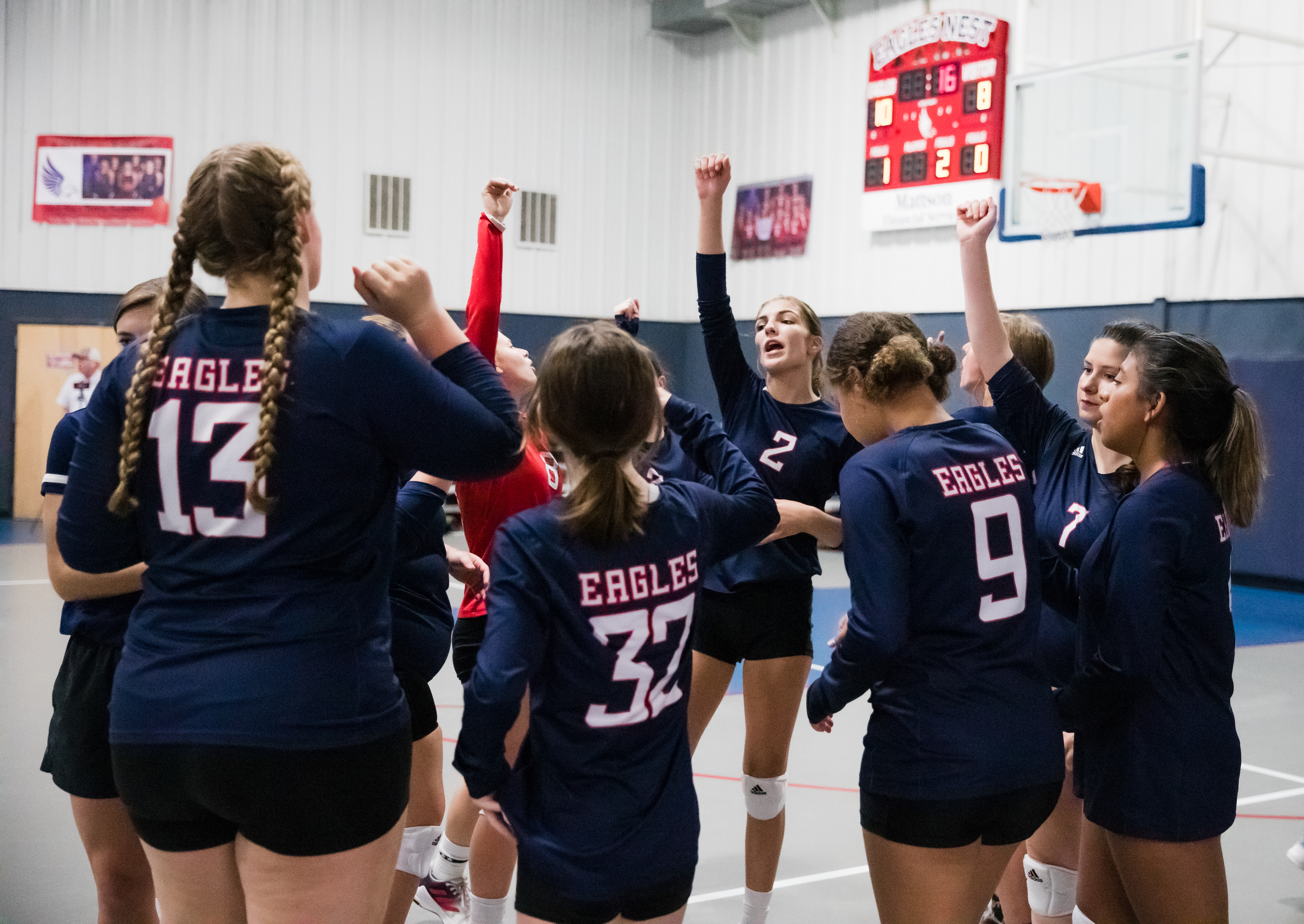 Volleyball Sports huddle 2