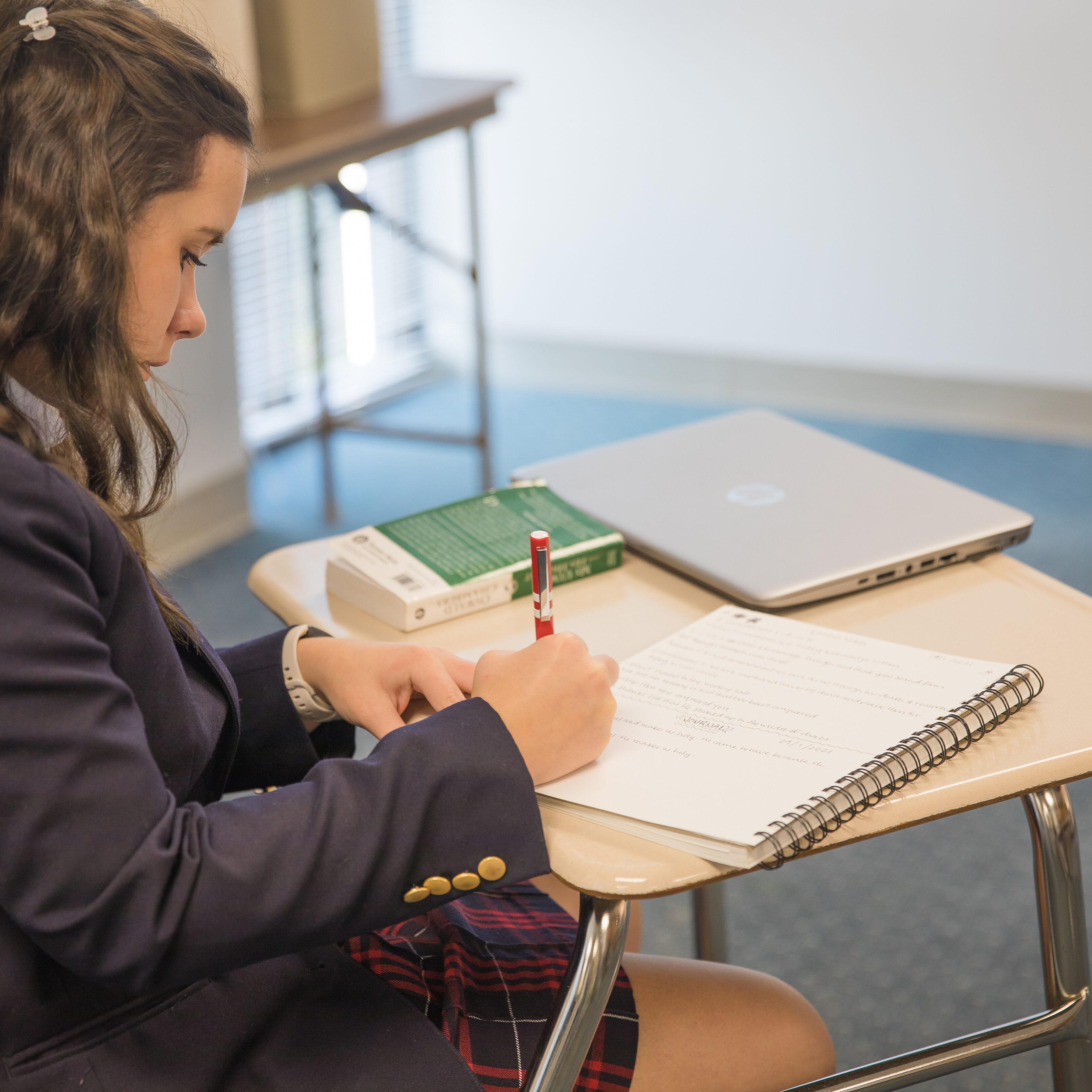 admissions- high school